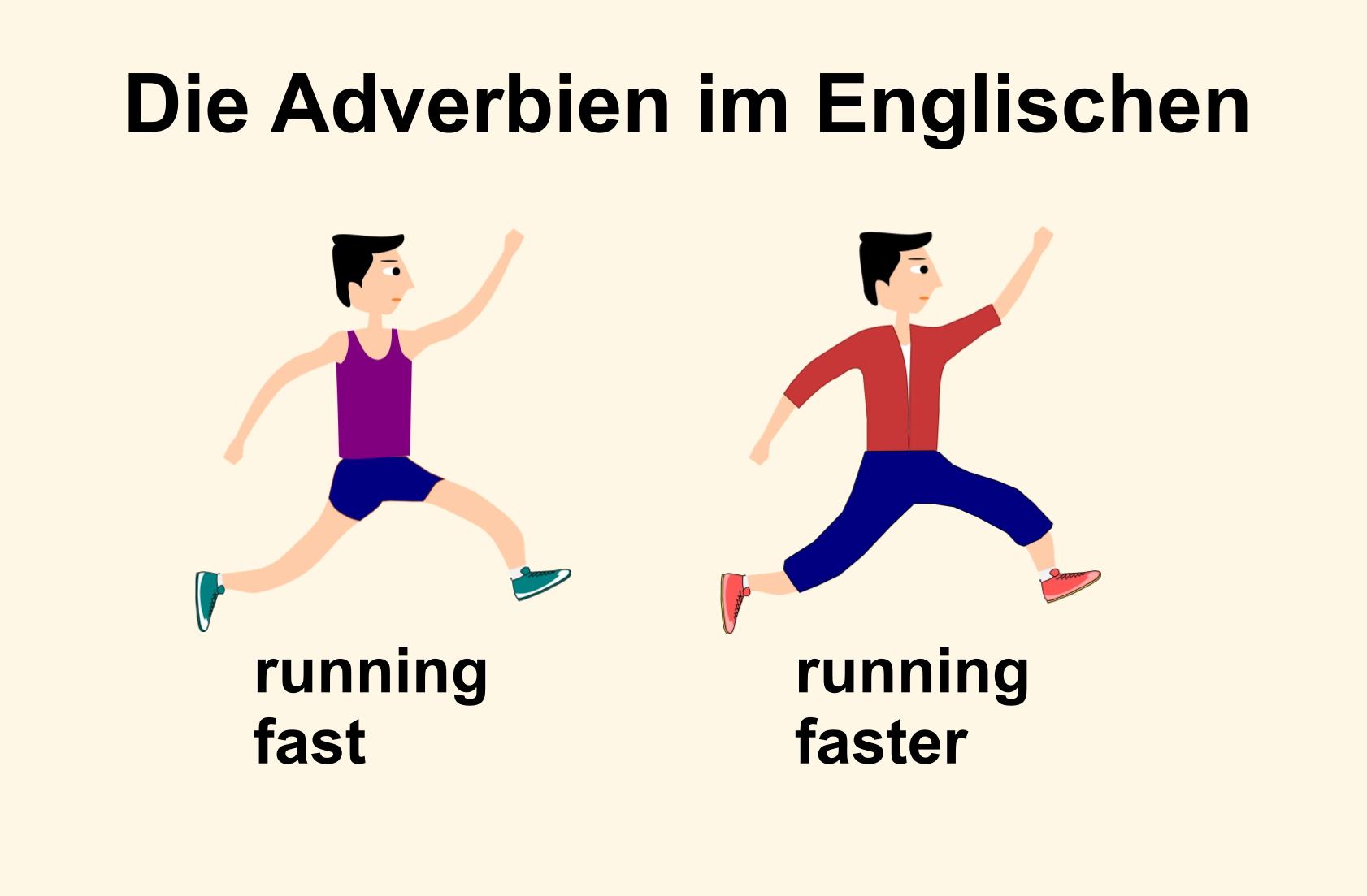 Englische Adverbien