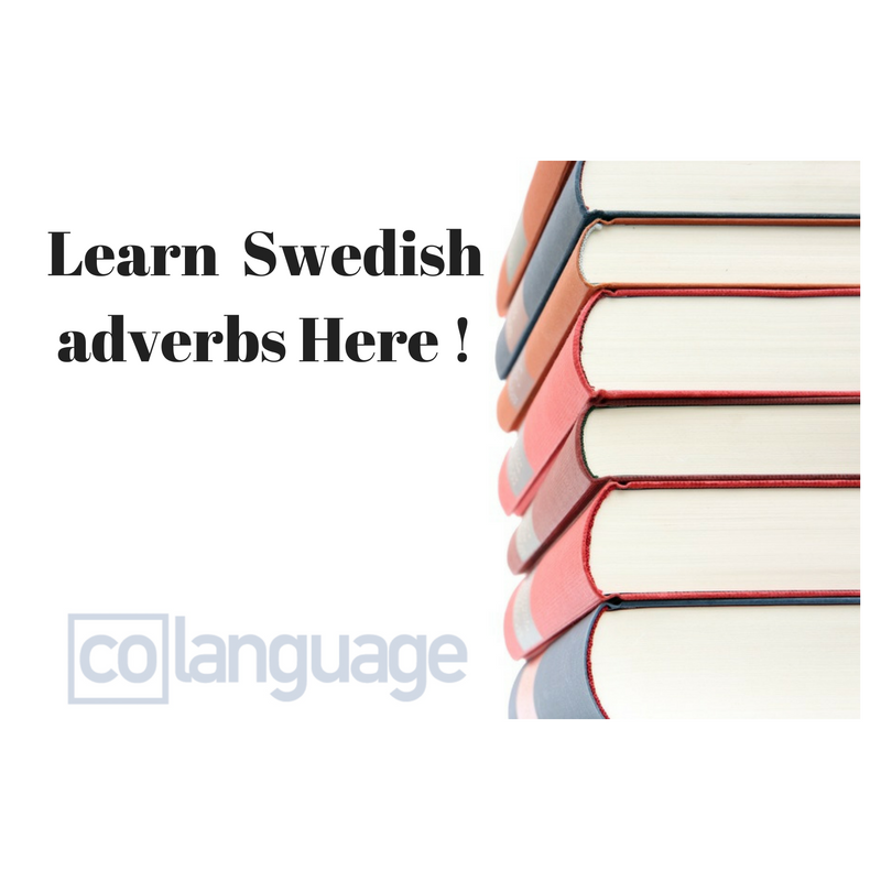 Swedish adverbs