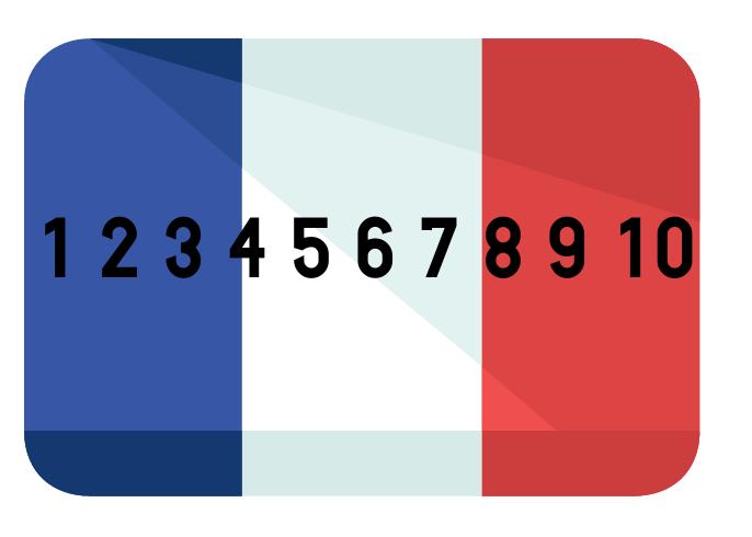 Französische Zahlen