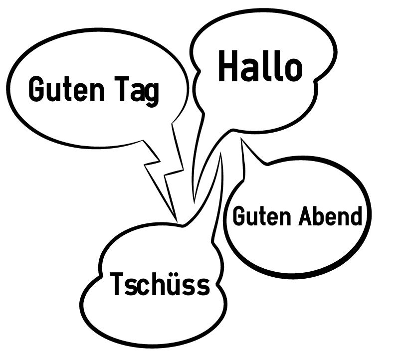 German greetings hello in german m4hsunfo