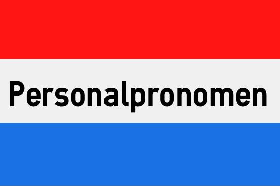 Niederländische Personalpronomen