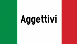 aggettivi in italiano