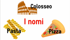 nomi e sostantivi in italiano