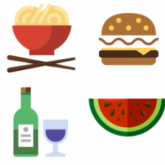 Food and drinks in French | coLanguage