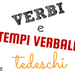I Verbi In Tedesco Colanguage