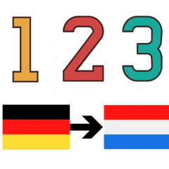 Niederländische Zahlen Colanguage